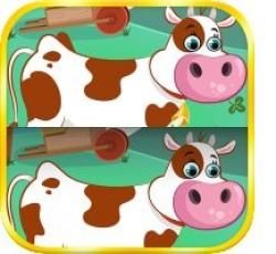 Find the Differences - Farm Animals