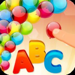 ABC Preschool: Pop Colorful Balloons Letters