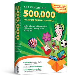 Art Explosion 500,000 Kid's Software