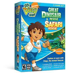 Go Diego Go! 2-Game Set